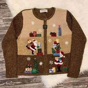 Heirloom Collectables Santa Ugly Christmas Sweater